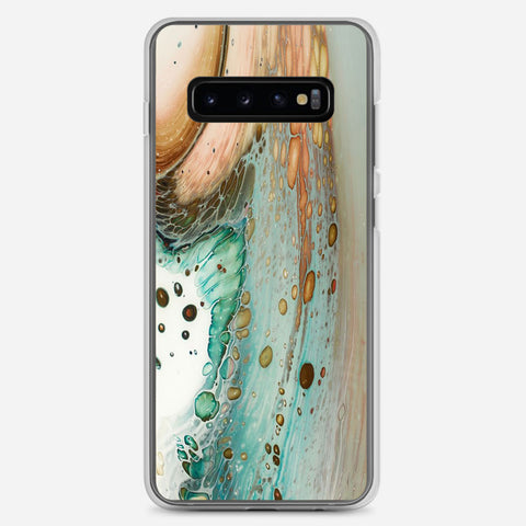 Mixed Media On Wood Samsung Galaxy S10 Plus Case