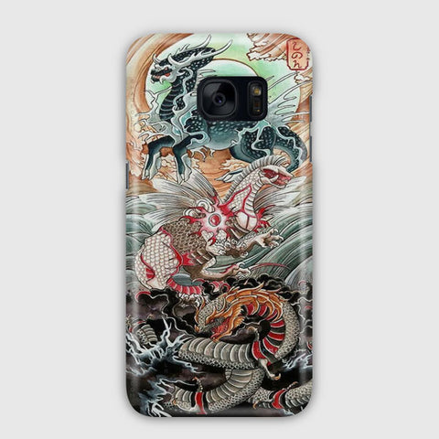 Moon And Sun Samsung Galaxy S7 Edge Case