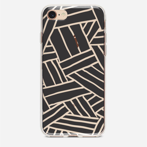 Line Abstract iPhone 8 Case