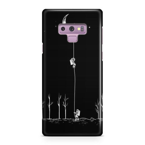 Moon Climbing Samsung Galaxy Note 9 Case