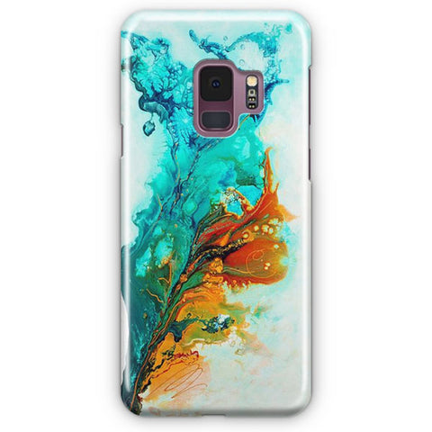 Multicolored Water Effect Fluid Samsung Galaxy S9 Case