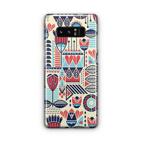 Aztec Pattern Samsung Galaxy Note 8 Case