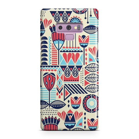 Aztec Pattern Samsung Galaxy Note 9 Case