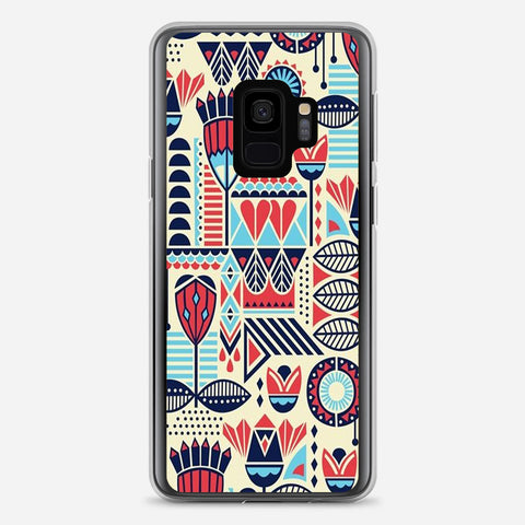 Aztec Pattern Samsung Galaxy S9 Case