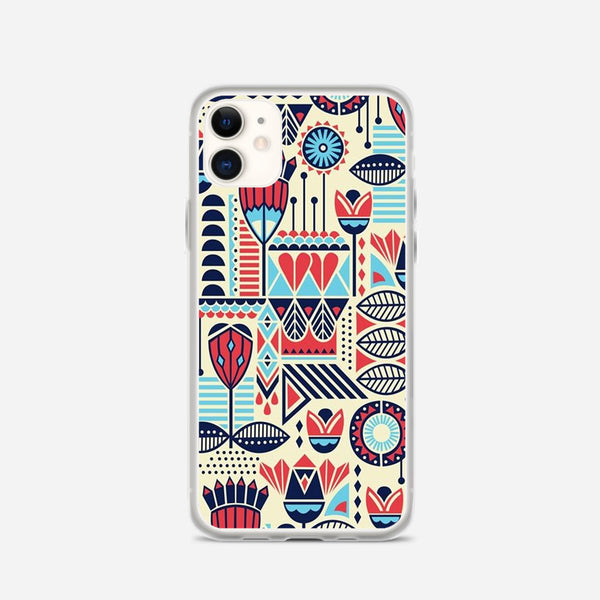Aztec Pattern iPhone X Case