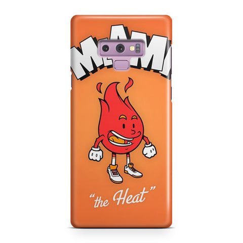 NBA Miami Heat Cute Logo Samsung Galaxy Note 9 Case