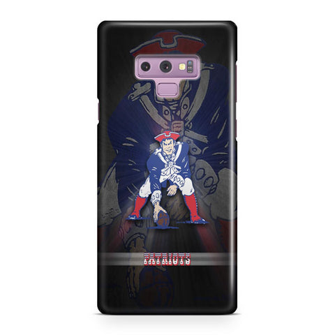 New England Patriots Player Samsung Galaxy Note 9 Case