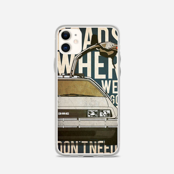 Back to the Future Artwork iPhone X Case