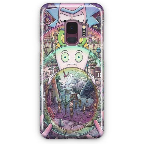 Nintendo Awesome Rick And Morty Samsung Galaxy S9 Case