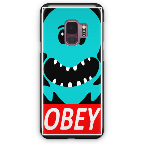 OBEY Rick and Morty Samsung Galaxy S9 Case