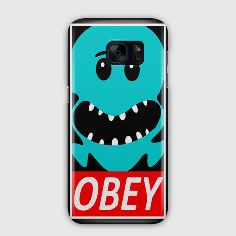OBEY Rick and Morty Samsung Galaxy S7 Edge Case