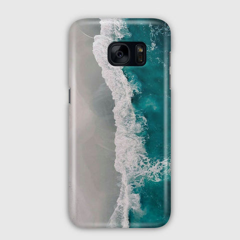 Ocean Blue Marble Samsung Galaxy S7 Edge Case