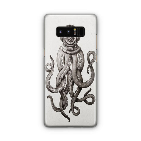 Octupus Illustration Samsung Galaxy Note 8 Case