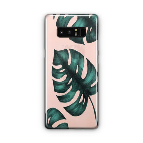 Banana Leaf Samsung Galaxy Note 8 Case