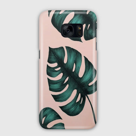 Banana Leaf Samsung Galaxy S7 Edge Case