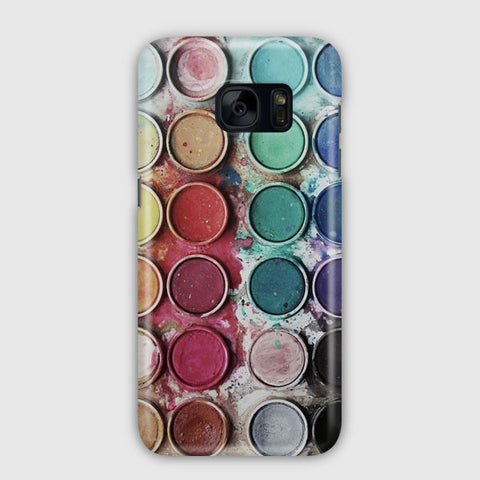 Palette Color Samsung Galaxy S7 Edge Case