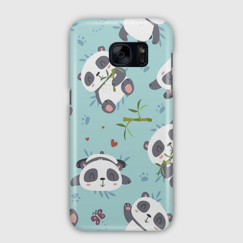 Panda Pattern Samsung Galaxy S7 Case