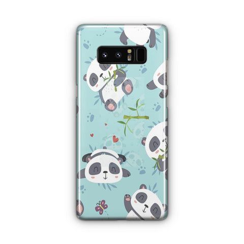 Panda Pattern Samsung Galaxy Note 8 Case