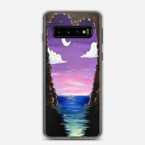 Paradise Cove At Midnight Samsung Galaxy S10 Case