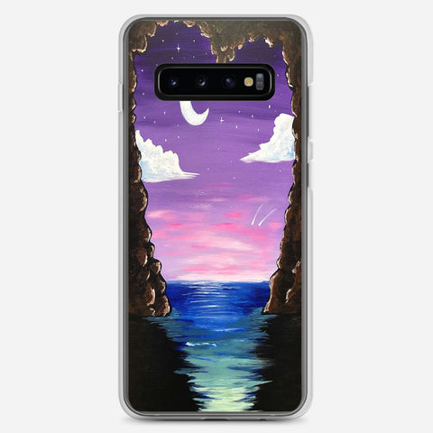 Paradise Cove At Midnight Samsung Galaxy S10 Plus Case