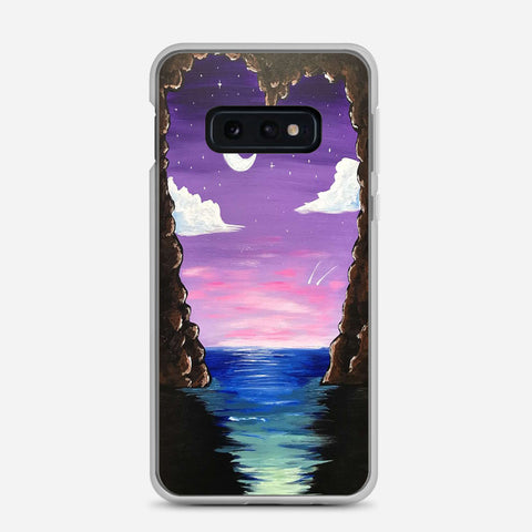 Paradise Cove At Midnight Samsung Galaxy S10e Case