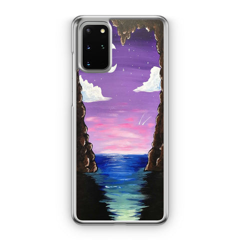 Paradise Cove At Midnight Samsung Galaxy S20 Plus Case