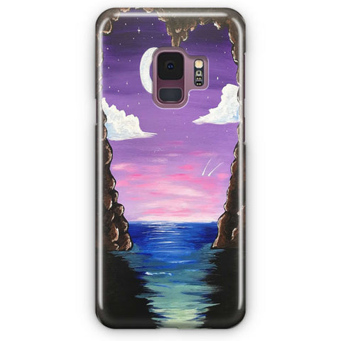 Paradise Cove At Midnight Samsung Galaxy S9 Case