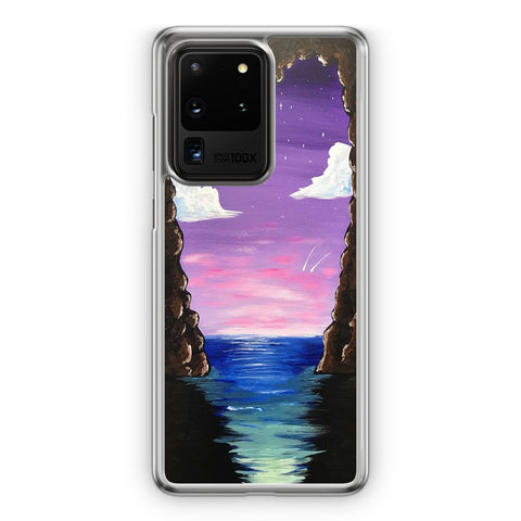 Paradise Cove At Midnight Samsung Galaxy S20 Ultra Case