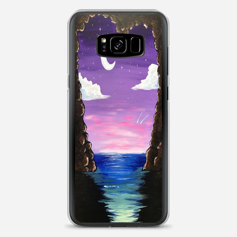 Paradise Cove At Midnight Samsung Galaxy S8 Plus Case