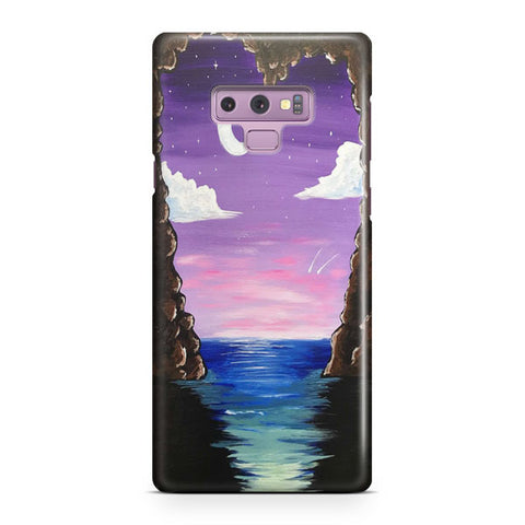 Paradise Cove At Midnight Samsung Galaxy Note 9 Case