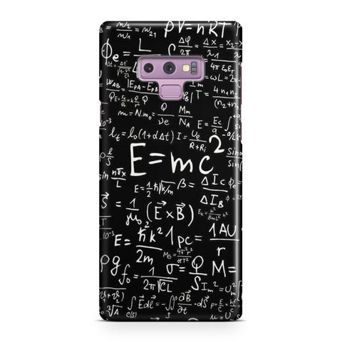 Physics Formula Samsung Galaxy Note 9 Case
