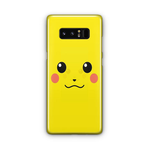 Pikachu Yellow Unicolor Cute Samsung Galaxy Note 8 Case