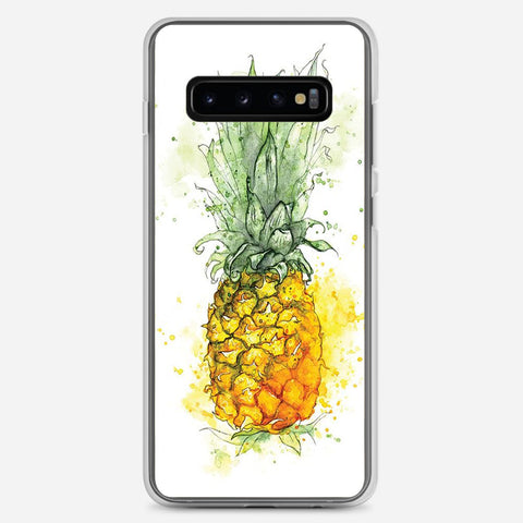 Pineapple Art Samsung Galaxy S10 Plus Case