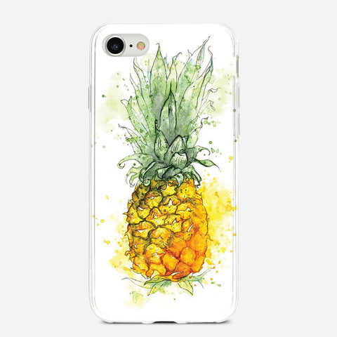 Pineapple Art iPhone 6S Plus Case