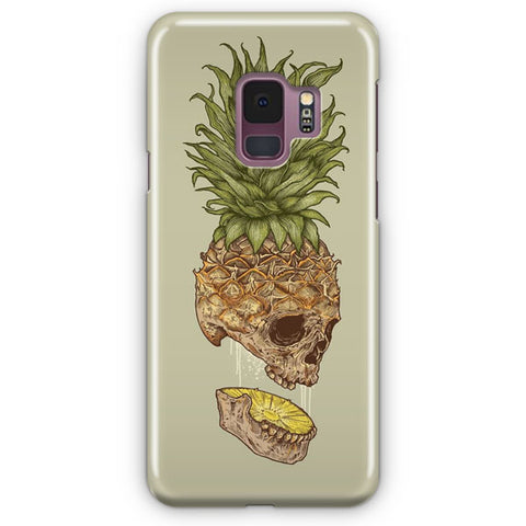 Pineapple Skull Samsung Galaxy S9 Case