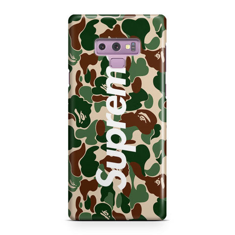 Bape Collaboration Samsung Galaxy Note 9 Case