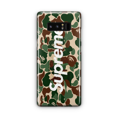 Bape Collaboration Samsung Galaxy Note 8 Case
