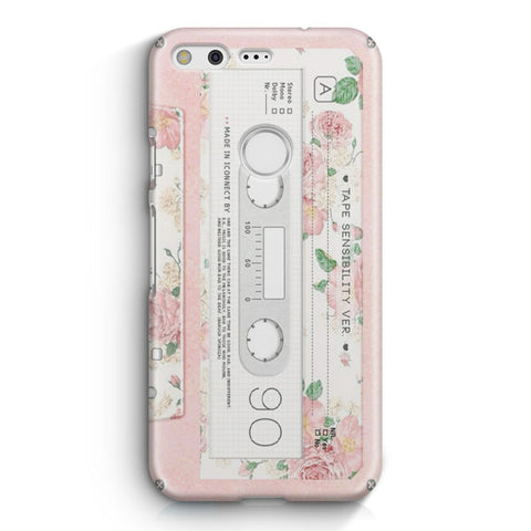Pink Cassette Tape Google Pixel 3 XL Case