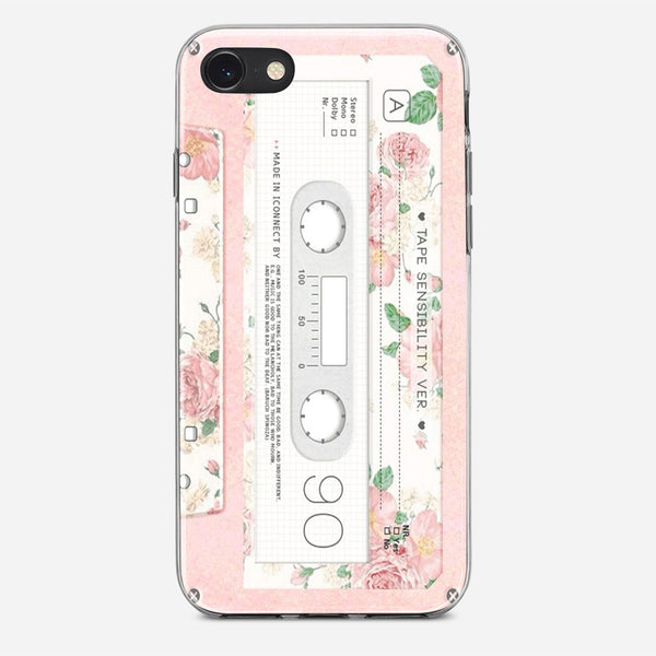 Pink Cassette Tape iPhone X Case
