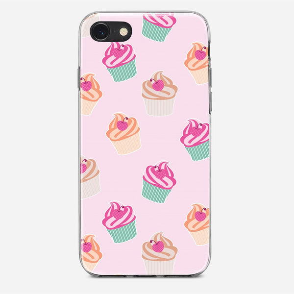 Pink Cup Cakes iPhone X Case