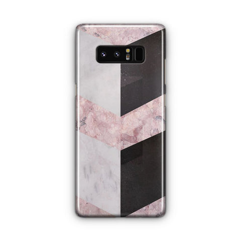 Pink Geometric Marble Samsung Galaxy Note 8 Case