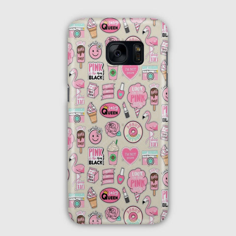 Pink Is The New Black Samsung Galaxy S7 Edge Case
