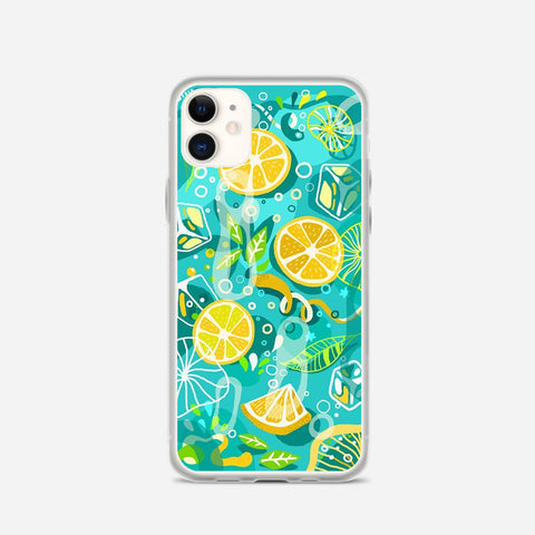 Lemonade Ice Summer Vibe iPhone 11 Case