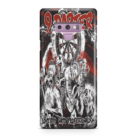 9 Darter Punk Rock Cover Samsung Galaxy Note 9 Case