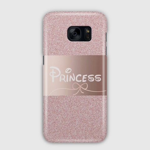 Pink Princess Disney Samsung Galaxy S7 Edge Case
