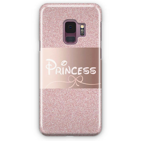 Pink Princess Disney Samsung Galaxy S9 Case