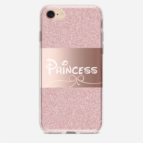 Pink Princess Disney iPhone 7 Case