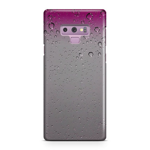 Pink Raindrops Samsung Galaxy Note 9 Case