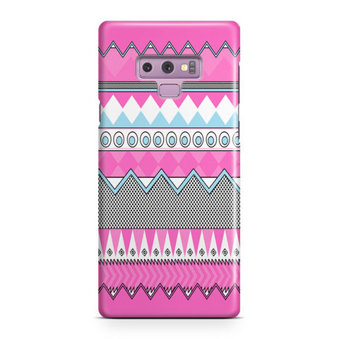 Pink Tribal Samsung Galaxy Note 9 Case