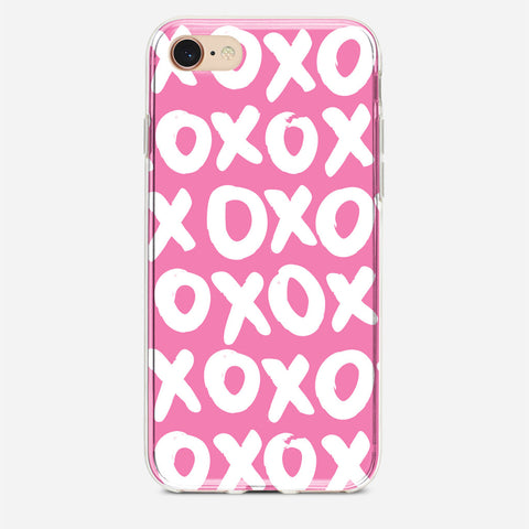 Pink XOXO iPhone 7 Case